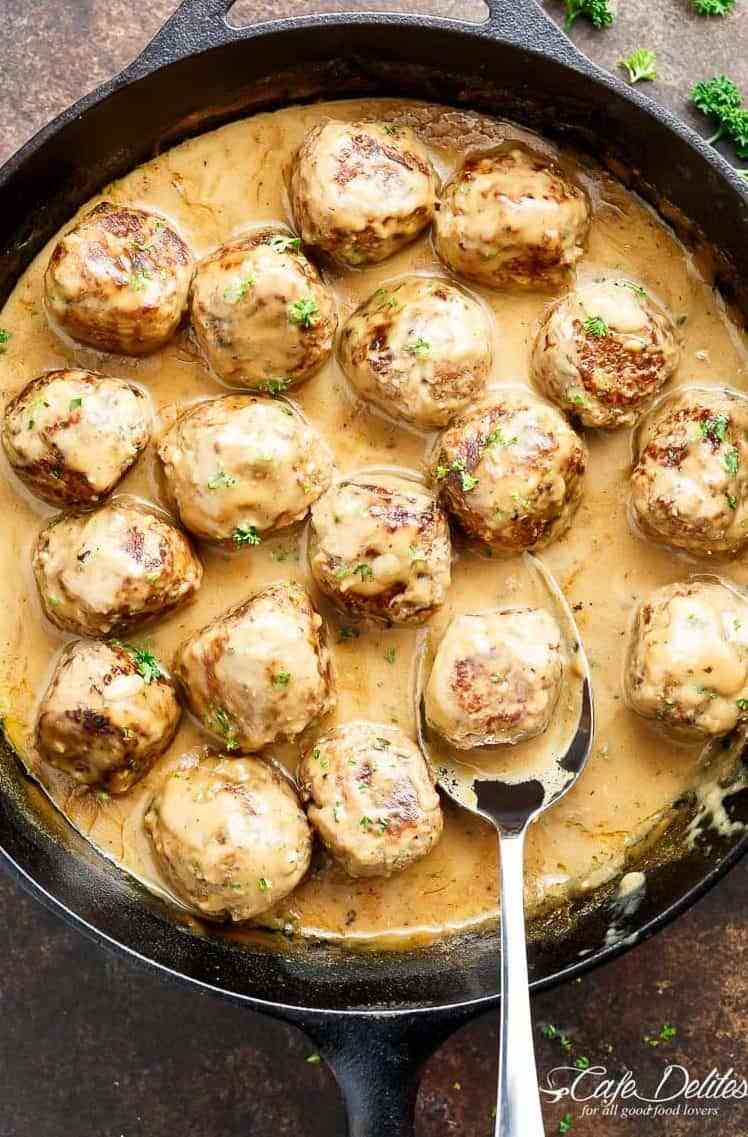 The Best Swedish Meatballs Recipe