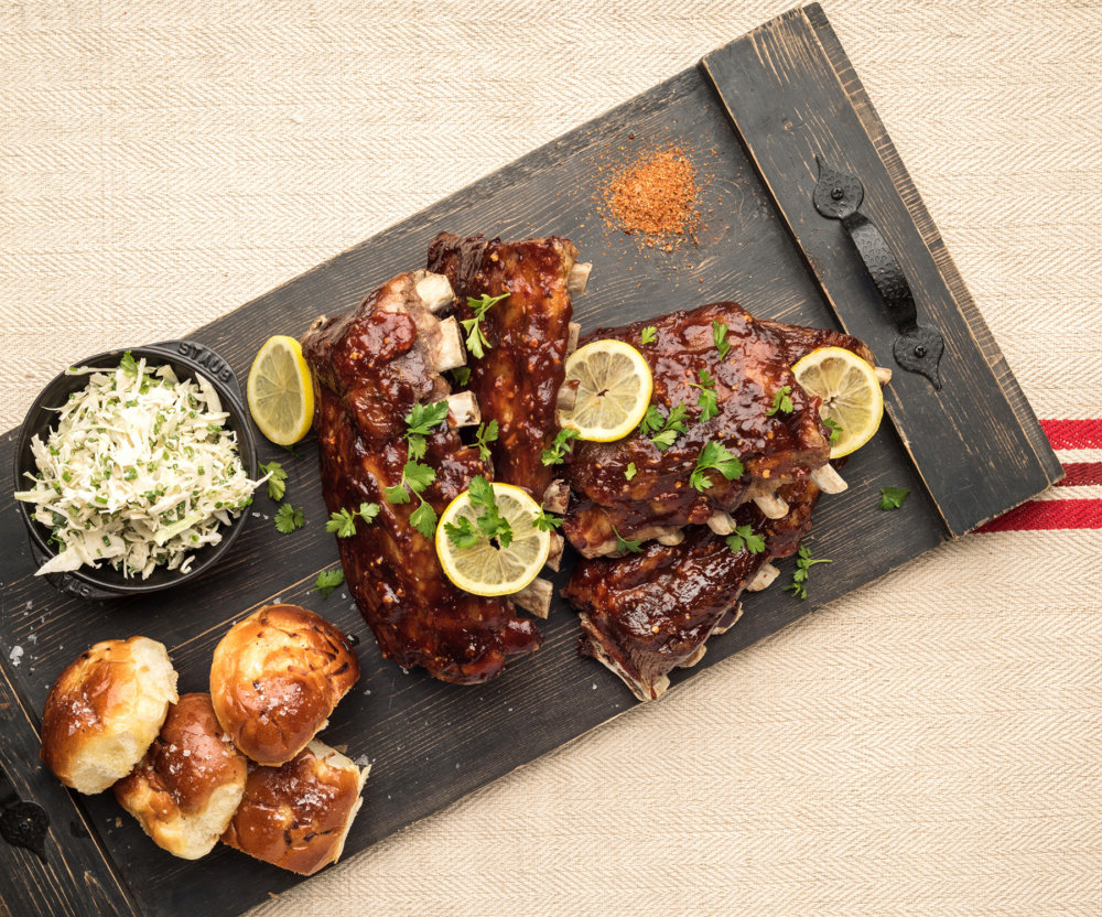 Oven-Roasted Back Ribs